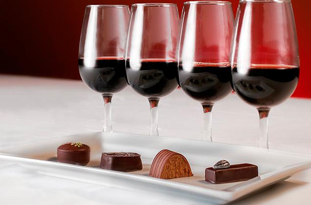 chocolate-vino